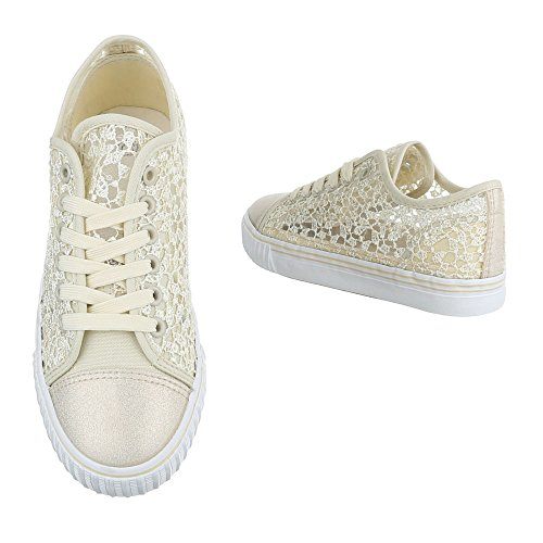 Ital-Design - Pantofole Donna Beige