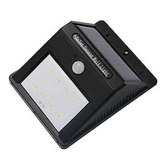 Seitor Lampade Solari con Sensore di Movimento Lampada Wireless ad Energia Solare da Esterno con Sensore di Movimento,Luce Solare Lampadine Led per Parete / Giardino / Cortile / Scale / Muro, con Funz