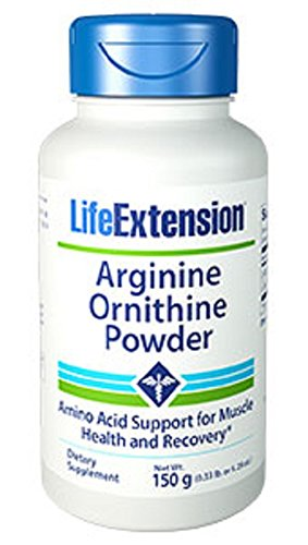 Arginine Ornithine Powder 150 grams 529 oz
