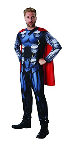 Kostüm Dress Thor Fancy - Rubie's 3810844 - Thor Marvel Univers Classic - Adult, Action Dress Ups und Zubehör, One Size
