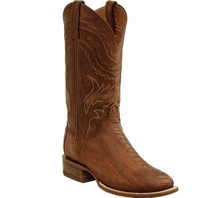 Lucchese  Evanston, Bottes et bottines cowboy homme Marron - Cognac Tan