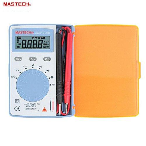 MASTECH MS8216-Compact 4,3cm LCD Digital Multimeter-BLAU