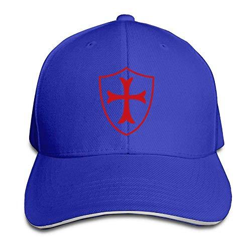 TEPEED Templar Shield Christian Knight Order Mens & Womens Baseball Cap Vintage Sun Visor Dad Cap