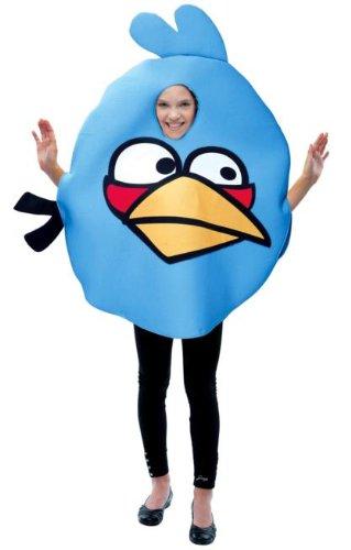 Kinder Birds Blue Angry Kostüme Bird (Angry Birds Blue Bird Child Costume One Size Fits)