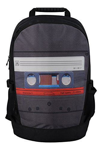 Rucksack für Jungen Mädchen Damen Herren Kinder - Schulrucksack Schulranzen, Ranzen für die Schule - Backpack für die Stadt/zum Sport für Kinder & Jugendliche - Cooles Design - Cassette
