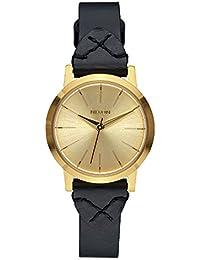 Nixon Damen-Armbanduhr Kenzi Leather Analog Quarz Leder A3982143-00