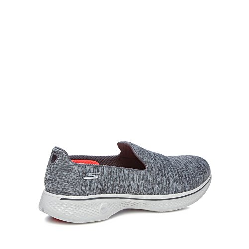 Skechers Womens Grey 'Go Walk 4 Achiever' Slip On Trainers 6