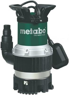 Metabo 251600000 Kombi-Tauchpumpe TPS16000S, 970W, 230Volt, 50Hz von Metabo