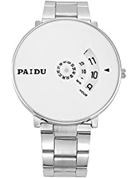 Talgo New Arrival Special Collection Paidu Round Analogue White Dial Men's Watch 58897 | Fashion Wrist Watch |...