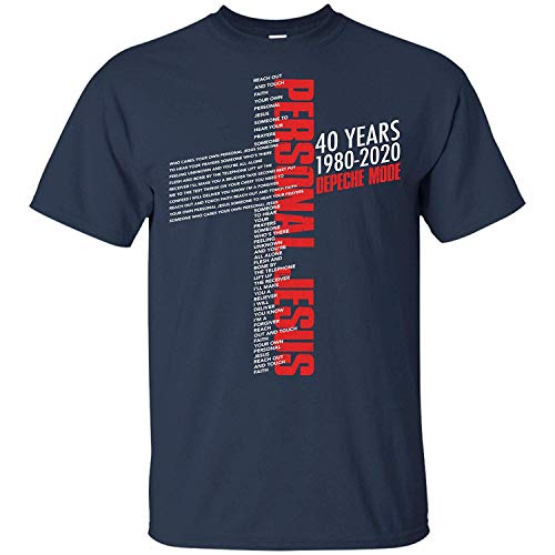 Leet Group Depeche Mode 40 Years 1980-2020 Personal Jesus Shirt