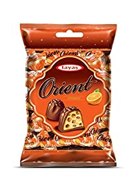 Tayas Orient Orange Flavour Imported Chocolate - 800 gm (80 to 100 pcs Approx) - Shipping Free