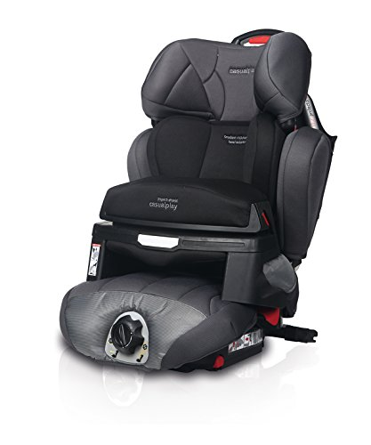CASUALPLAY MULTIPROTECTOR FIX - SILLA DE COCHE GRUPO 1/2/3  COLOR GRIS