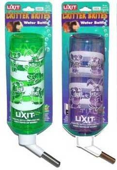 Kleine Animal Supplies Critter Brites superkardierte Wasser Flasche 8Oz Day Glow Farben
