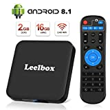 [Android 8.1 TV-Box] Leelbox Smart-TV-Box Q2 MINI Quad Core 2 GB RAM + 16 GB ROM/ 4K * 2K UHD H.265/ HDMI/USB * 2/ WLAN-Media-Player/Android-Set-Top-Box