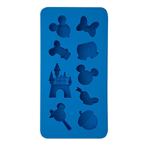 Mickey Mouse Mold (Disney Parks Mickey Mouse Character Castle Silicone Ice Cube Tray Mold NEW by Disney)