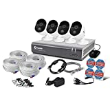 Swann 8 Channel Security System: 1080p Full HD DVR-4575 with 1TB HDD & 4 x 1080p Thermal Sensing Cameras - Pack of 4