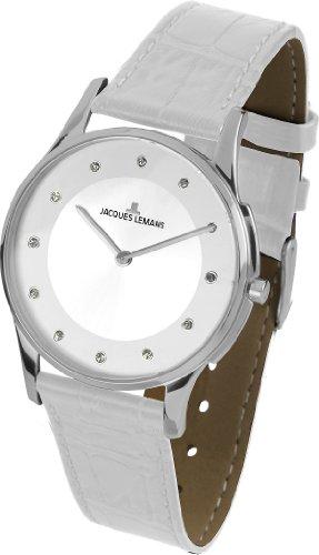 Jacques Lemans Unisex Watch London 1–1778 Leather Analog Quartz g