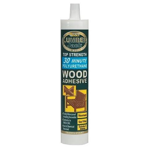 Lumberjack 30 Minute Polyurethane Wood Adhesive Gel 310ml