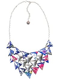 Desigual - Collier court - Plaqué argent - Global Traveller - 44 cm - 71G9EJ45016U
