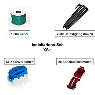 genisys Installations-Kit XS+ Viking iMow iKit Kabel Haken Verbinder Installation Paket