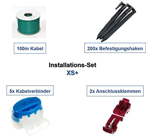genisys Installations-Set XS+ Yardforce Kabel Haken Verbinder Installation Paket Set Kit