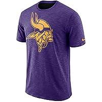 Nike Min M NK DFCT Slub tee - Camiseta, Hombre, Morado(Court Purple