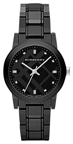 BURBERRY BU9183 - Reloj para mujeres, correa de cerámica