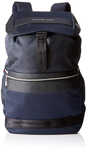Tommy Hilfiger Herren Backpack, Blau (Tommy Navy 413), 17x46x35 cm (W x H x L)