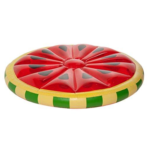 Toyvian Puntelli gonfiabili di Anguria Jumbo Beach Fondali Bomboniere Decorazione per Hawaiian Luau Party Size - 143CM (Watermelon)