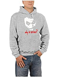 Joker - Why so serious? Hooded Sweatshirt - Pullover S-XXXL diff. Color