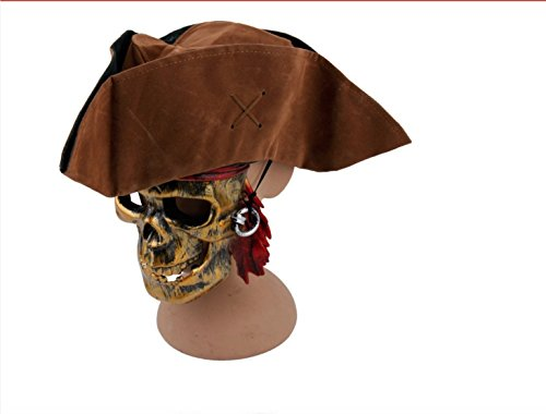 Jack Sparrow Halloween - Jack Sparrow Fluch der Karibik Piraten-Hut