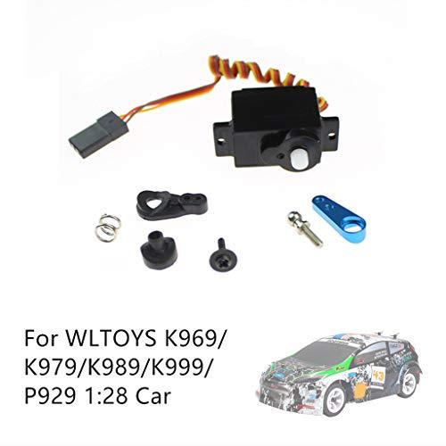 Mitlfuny Auto-Modell Plüsch Bildung Squishy Spielzeug aufblasbares Spielzeug im Freien Spielzeug,Servo-Schwenkarm-Satz für Lenkgetriebe für WLTOYS K969 / K979 / K989 / K999 / P929 1:28 (Tundra Für Lift-kits)