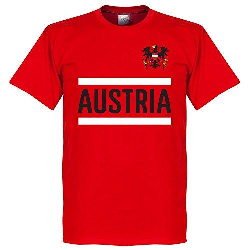 Österreich Team T-Shirt - rot - XXXL