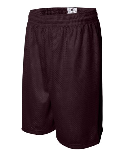 Badger - Short - Homme Rouge - Bordeaux