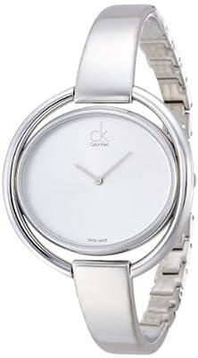 Calvin Klein–Reloj de pulsera analógico para mujer cuarzo acero inoxidable k4F2N116 de Calvin Klein