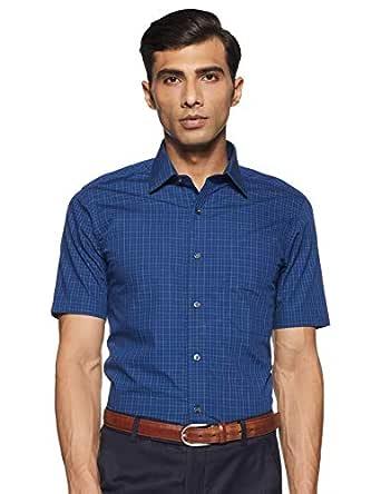Arrow Men's Checkered Regular fit Formal Shirt