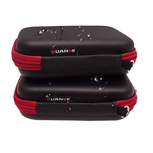Electronic Pocket Organizer (EVA Travel Cable Organizer Tasche, Wittyspace für Festplatten Kabel Telefon USB Ladegerät Power Bank Tablet Reise Aufbewahrungstasche)