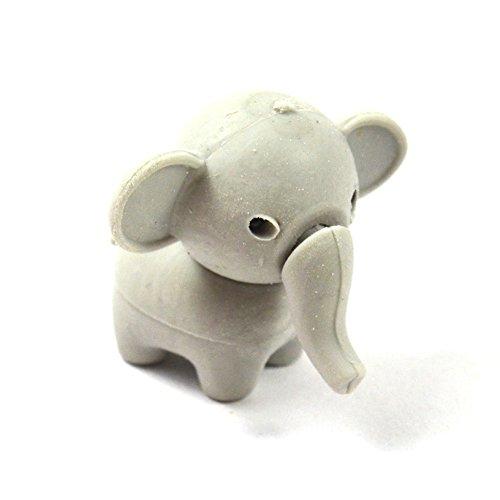 Radierer Fantasie Elefant Elephant blau gelb rosa grau Radierer Kinder Radiergummi Tier kawaii...