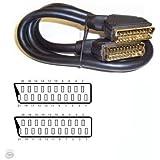 Ex-Pro Scart Cables (2m, Black)