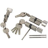 3x Knaufzylinder 80mm 40//40 15 Schlüssel Tür Zylinder Schloss gleichschliessend