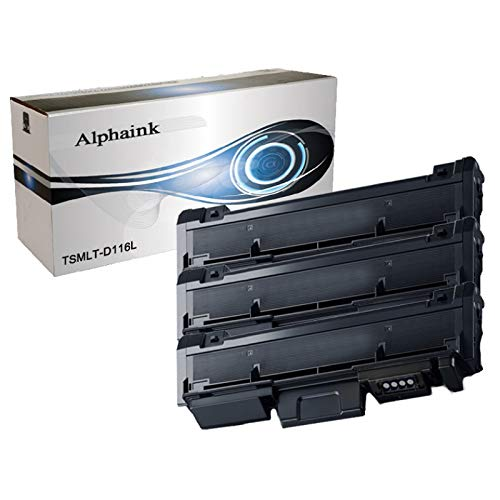 Alphaink AI-KIT3-PFMLT-D116L KIT 3 Toner compatibili per Samsung Xpress (3000 copie) SL-M2625D SL-M2626 SL-M2675F SL-M2675FN SL-M2676 SL-M2825ND 3000 copie al 5%