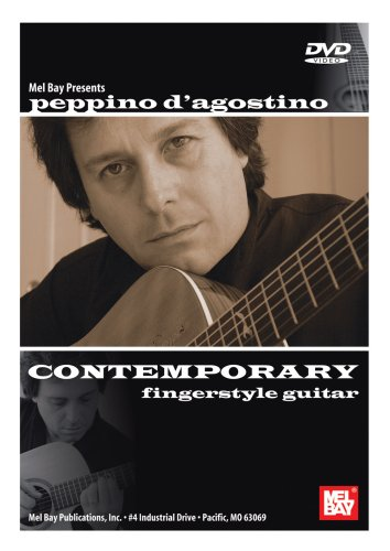 CONTEMPORARY FINGERSTYLE GUITAR REINO UNIDO DVD