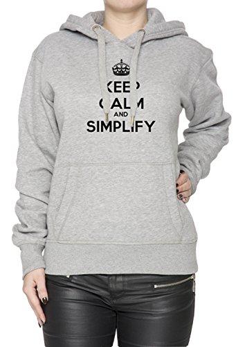 keep-calm-and-simplify-gris-algodn-mujer-sudadera-sudadera-con-capucha-pullover-grey-womens-sweatshi