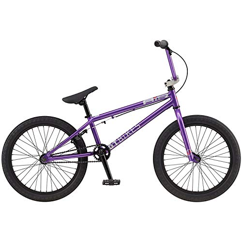 "41slv sfT1L. SS500  - GT 20"" Air 2019 Complete BMX Bike - Purple"