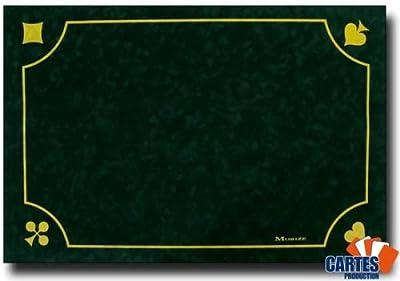 Tapis Morize Belote Vert 60x40