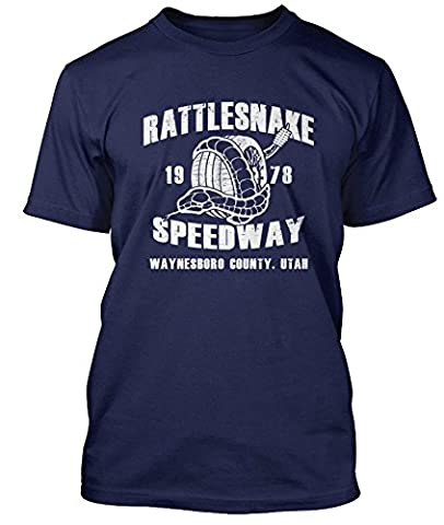 Bruce Springsteen Promised Land Rattlesnake Speedway T-shirt, Mens, Large, Royal