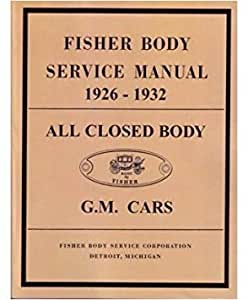 Bishko Automotive Literature 1926 1931 1932 Buick Cadillac Chevrolet Body Shop Service Repair Manual Factory