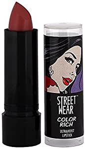 Street Wear Color Rich Ultra Moist Lip Color, Ruby Riddle, 4.2g (Rs 21 Off on MRP)