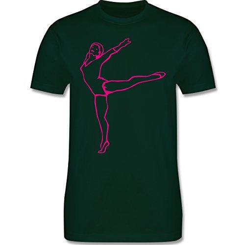 Wellness, Yoga & Co. - Rhythmische Sportgymnastik - Herren Premium T-Shirt Dunkelgrün