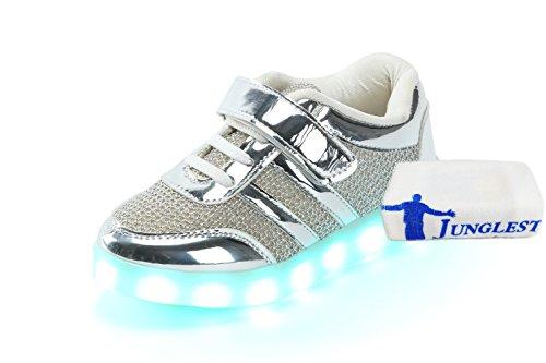 [+Kleines Handtuch]Kinderschuhe USB Lade Licht Jungen emittierende Schuhmädchenschuh leuchtende LED beleuchtete Sportschuhe großer Junge Sc c7
